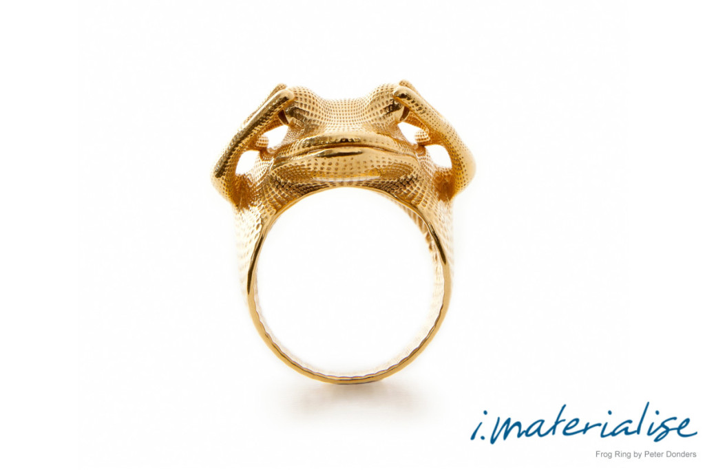 Frog Ring by Peter Donders imaterialise materializing